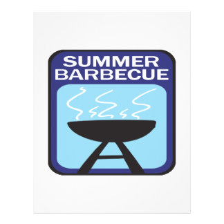 Summer Barbecue Custom Flyer