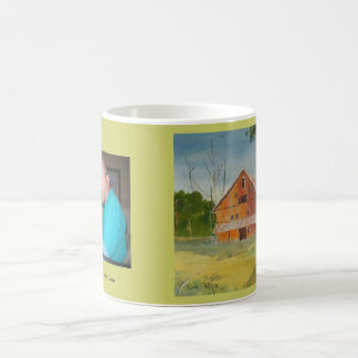 Summer Barn and Kevin Painting Coffee Mug