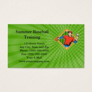 Summer Baseball Training Business card