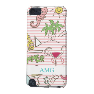 Summer Beach Cartoon iPod Touch 5G Cover