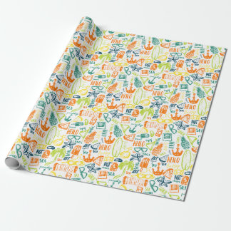 Summer Beach II Wrapping Paper