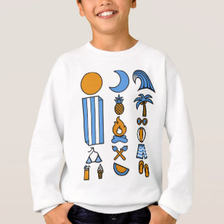 Summer beach life sweatshirt