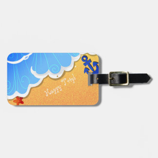 Summer Beach luggge tag
