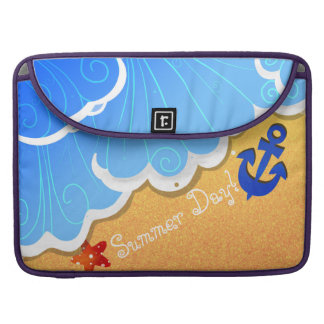 Summer Beach MacBook Pro sleeves
