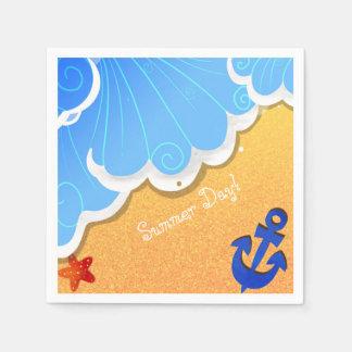 Summer Beach napkin Paper Napkin