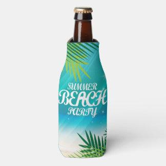Summer Beach Party Bottle Cooler