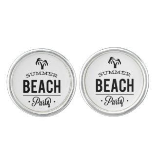 Summer Beach Party Cufflinks
