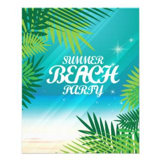 Summer Beach Party Flyers