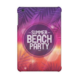 Summer Beach Party Night iPad Mini Retina Cover