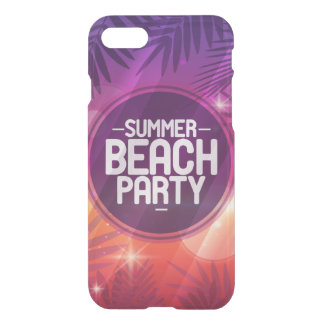 Summer Beach Party Night iPhone 7 Case
