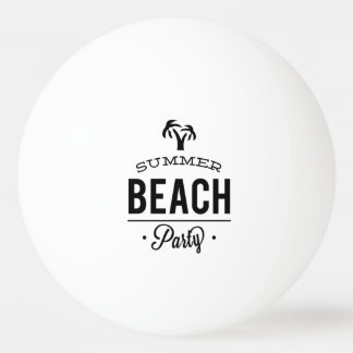 Summer Beach Party Ping Pong Ball