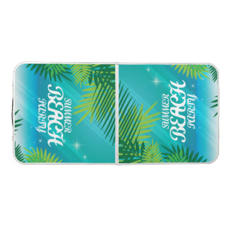 Summer Beach Party Pong Table