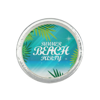 Summer Beach Party Ring