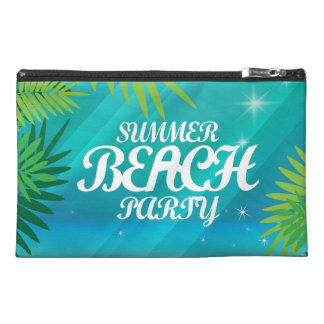 Summer Beach Party Travel Accessory Bag