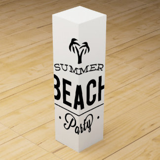Summer Beach Party Wine Box