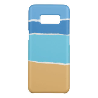 Summer beach, sea and sky Case-Mate samsung galaxy s8 case