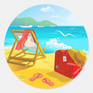 Summer Beach Stickers