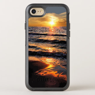 Summer Beach Sunset OtterBox Symmetry iPhone 8/7 Case
