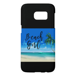 Summer Beach Theme Samsung Galaxy S7 Case