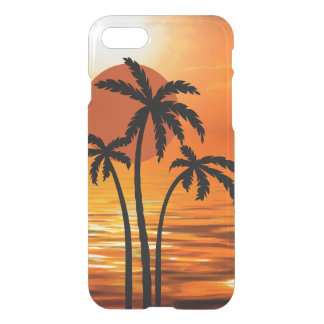 Summer Beach Tropical Design iPhone 8/7 Case