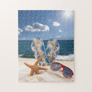 Summer Beach Vacation Puzzle
