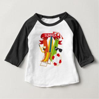 Summer Beach Watersports Baby T-Shirt