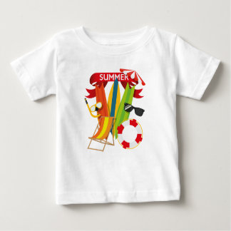 Summer Beach Watersports Baby T-Shirt