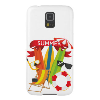 Summer Beach Watersports Case For Galaxy S5