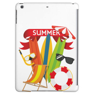 Summer Beach Watersports Cover For iPad Air