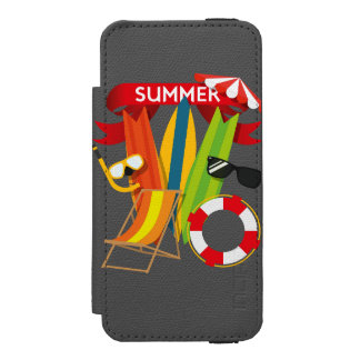 Summer Beach Watersports Incipio Watson™ iPhone 5 Wallet Case