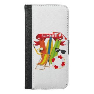 Summer Beach Watersports iPhone 6/6s Plus Wallet Case