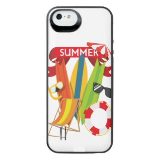Summer Beach Watersports iPhone SE/5/5s Battery Case