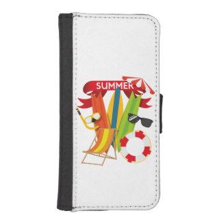 Summer Beach Watersports iPhone SE/5/5s Wallet Case