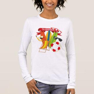 Summer Beach Watersports Long Sleeve T-Shirt