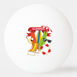 Summer Beach Watersports Ping Pong Ball
