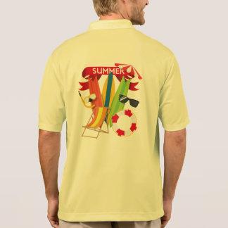 Summer Beach Watersports Polo Shirt