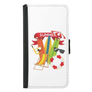 Summer Beach Watersports Samsung Galaxy S5 Wallet Case