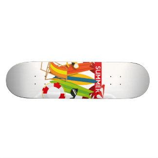 Summer Beach Watersports Skateboard