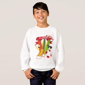 Summer Beach Watersports Sweatshirt