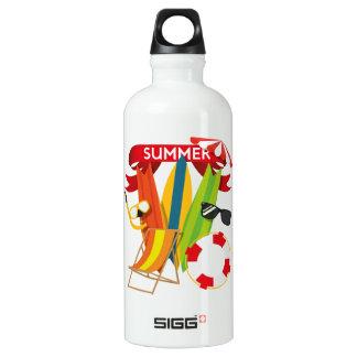 Summer Beach Watersports Water Bottle