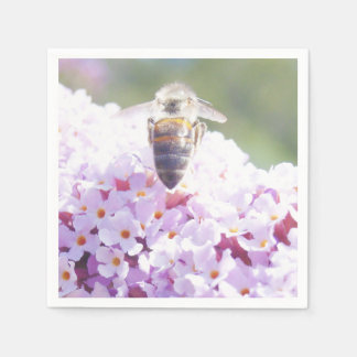 Summer Bee Disposable Napkins
