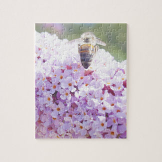 Summer Bee Jigsaw Puzzle