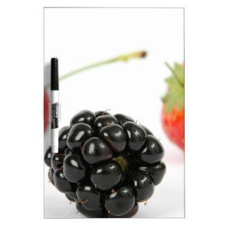 Summer Berries Dry Erase White Board