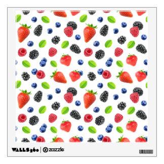 Summer berries wall sticker