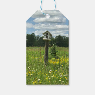 Summer Birdhouse Gift Tag Crystal Falls, MI
