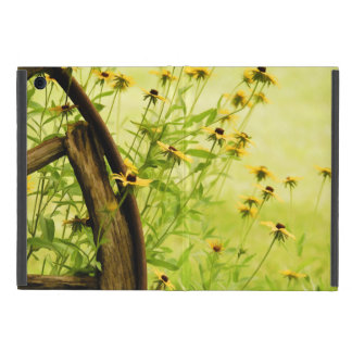 Summer Black-Eyed Susan and Wagon Wheel Photo Cases For iPad Mini