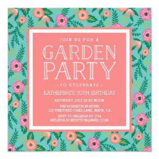 Garden Party Invitations Announcements Zazzle Canada