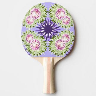 Summer blossom ping pong paddle