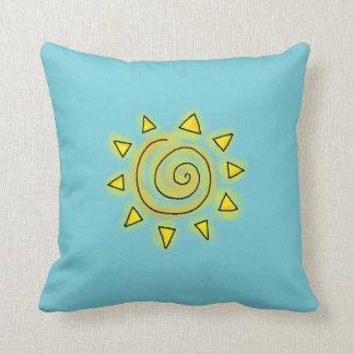 Summer Blue Pillow