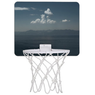 Summer Blues Mini Basketball Hoop
